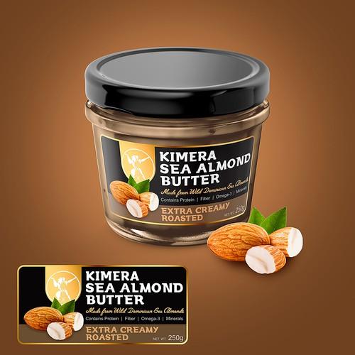 Label Kimera Sea Almond Butter