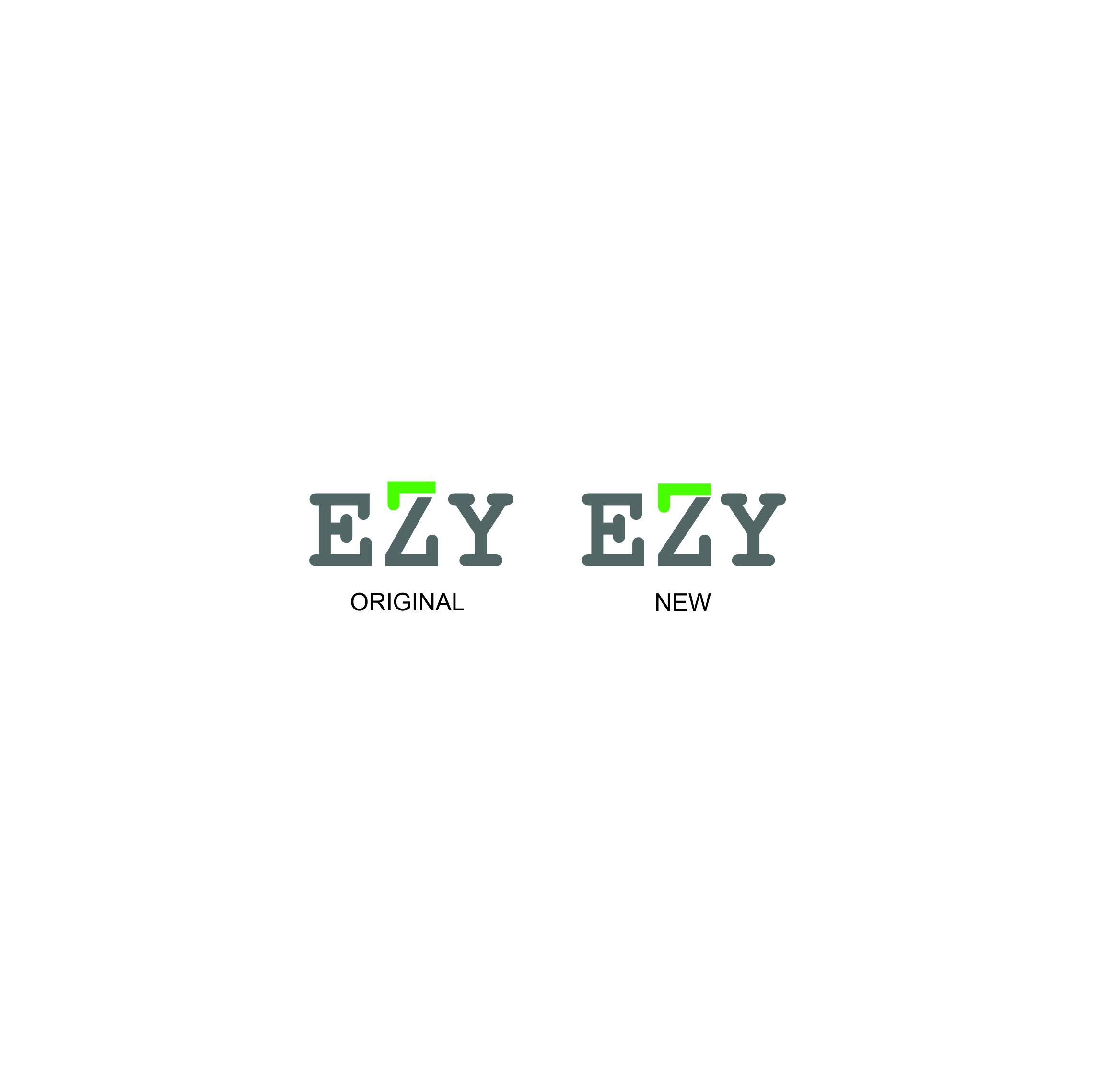 Create an outSTANDING logo for Ezy