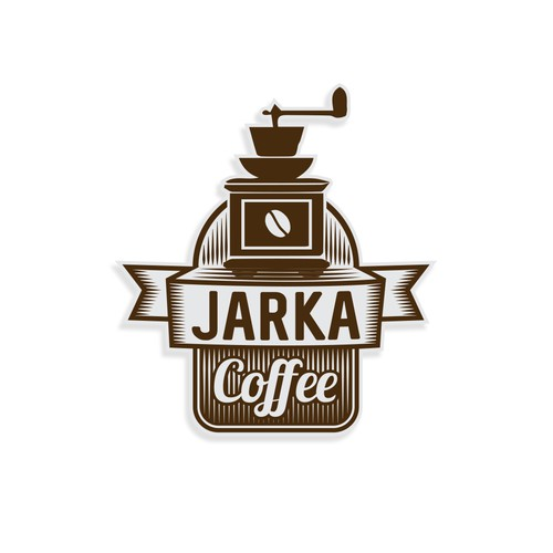 Logo for a fine coffee brand