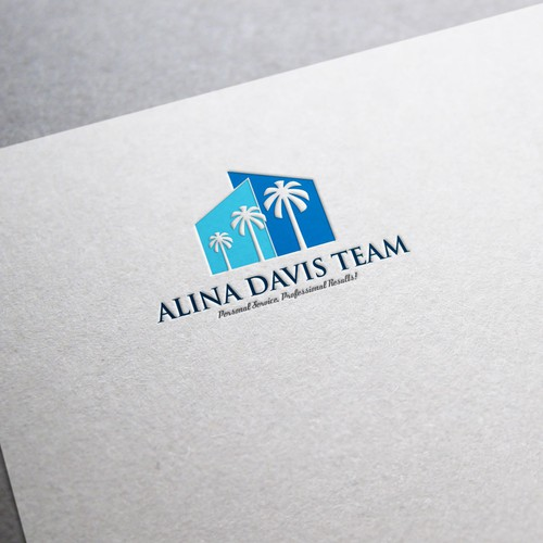 Logo for a highly successful real estate team.