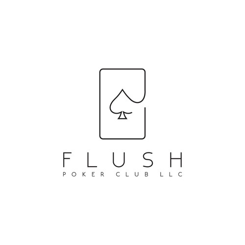 Logo design for Flush