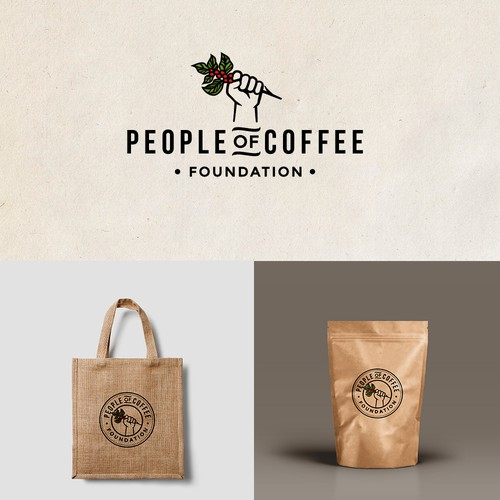 logo for coffee foundation