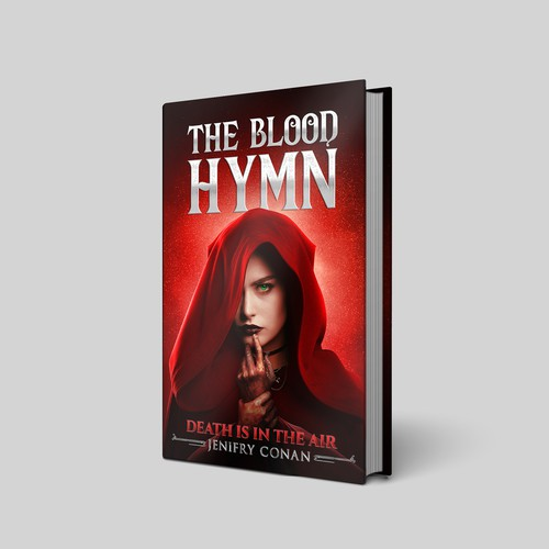 E-Book Cover for The Blood Hymn Novel