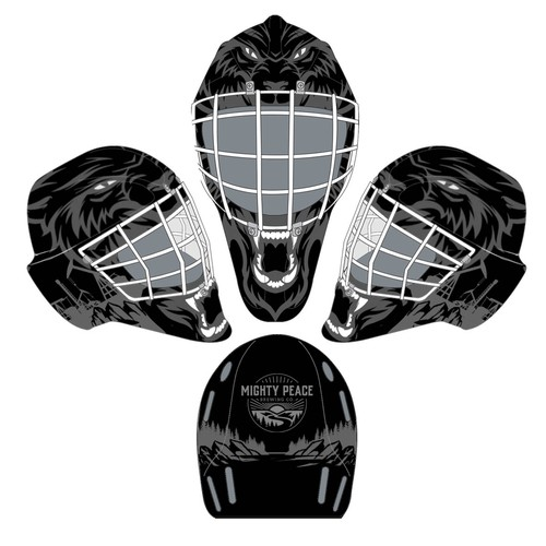 Blank Canvas - Goalie Mask