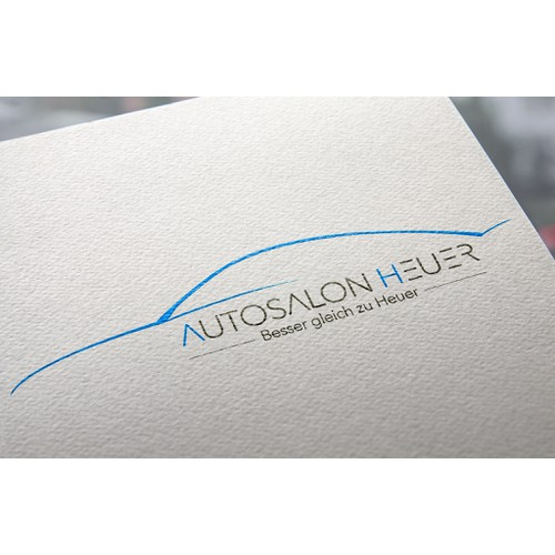 Autosalon in dritter Generation such neues LOGO