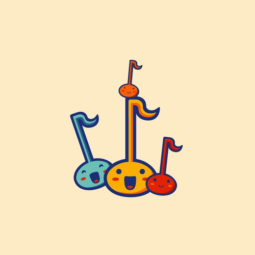 Playful logo for playful instrument!