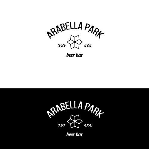 Logo concept for a beer bar