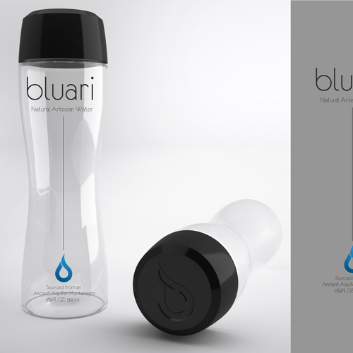 Help BLUARI WATER with a new product label