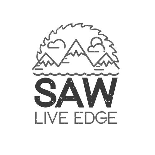 Logo for SAW Live Edge