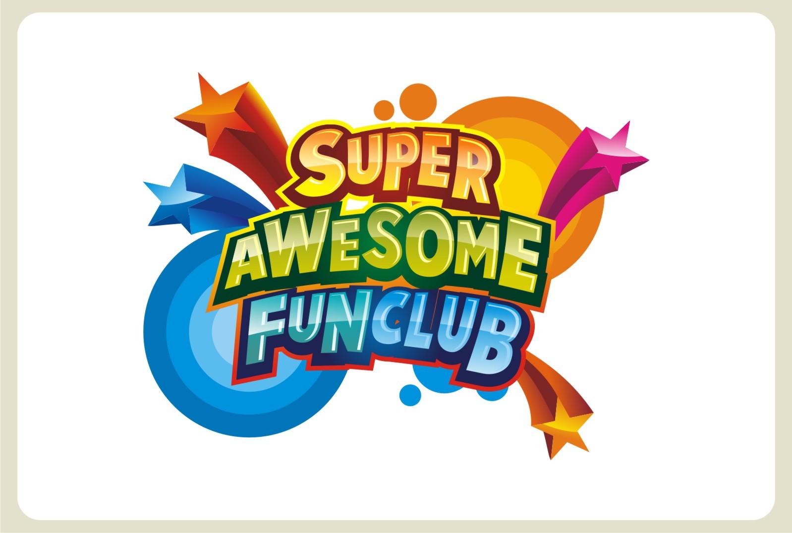 logo for superawesomefunclub