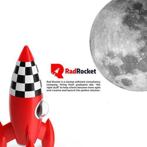 Logo concept for RadRocket