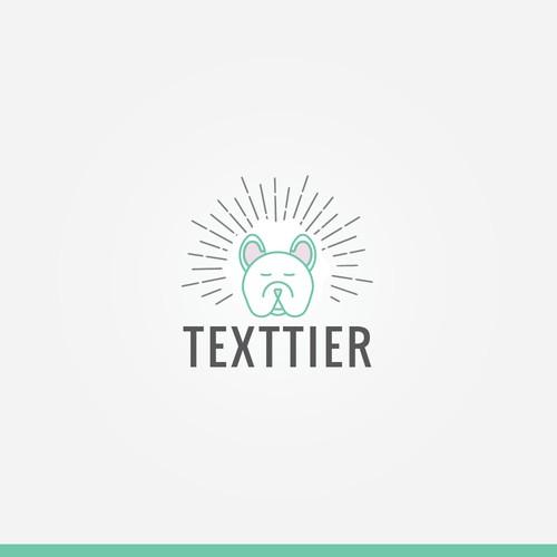 Cute terrier logo