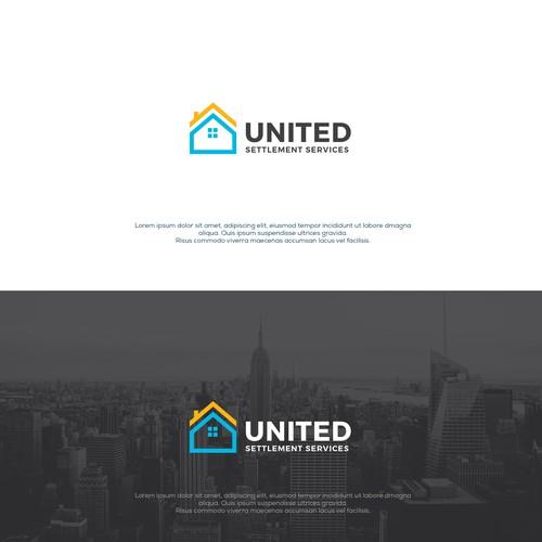 Bold and unique Logo design concept for real estate escrow services!