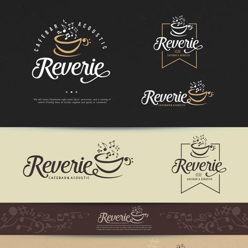Logo for coffee bar.
