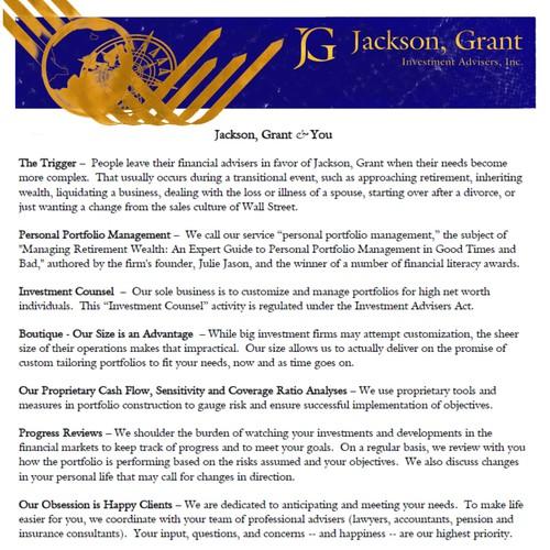 JG Jackson GrantbLetterhead
