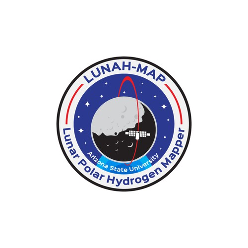 Emblem logo for Nasa Lunah-Map, Arizona State University