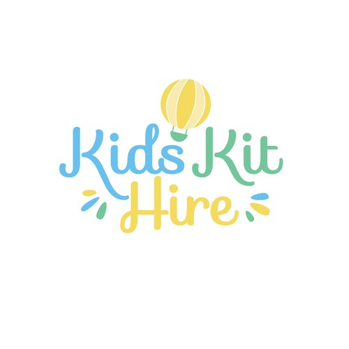 Kids Kit Hire Logo Design