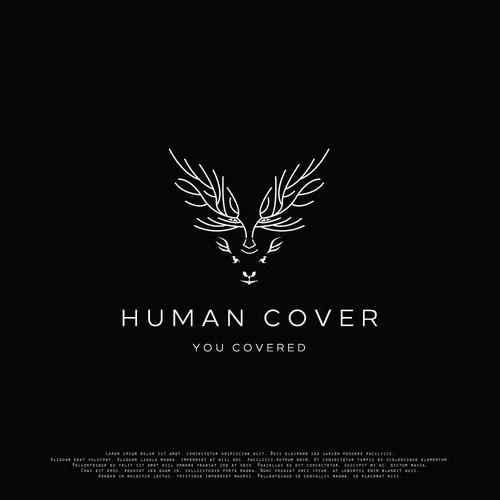 Logo for Human Cover