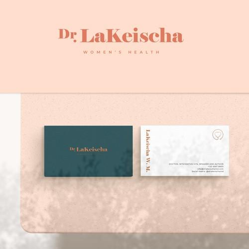 Logo & Brand Guideline for Dr. Lakeischa