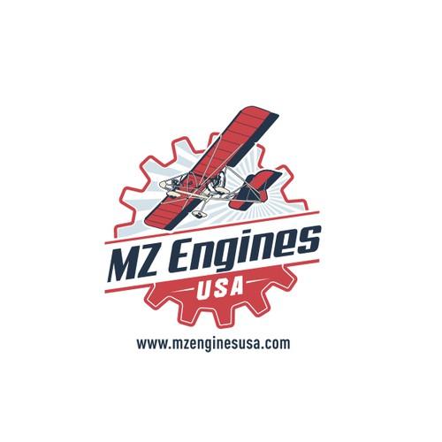 Vintage Logo for Sport Aviation Industry