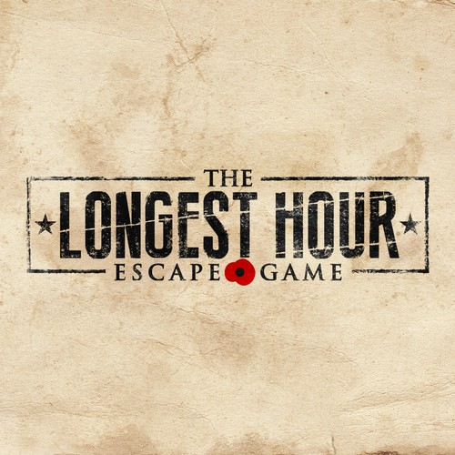 Logo design for The Longest Hour: Escape Game