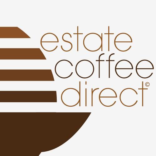 Logo Design for Estate Coffee Direct