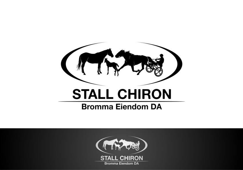 Create the next logo for STALL CHIRON, Bromma Eiendom DA