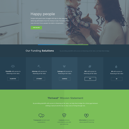 Legal finance website