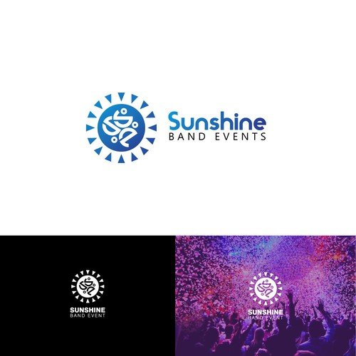 Logo Concept for Sunshine Band Event