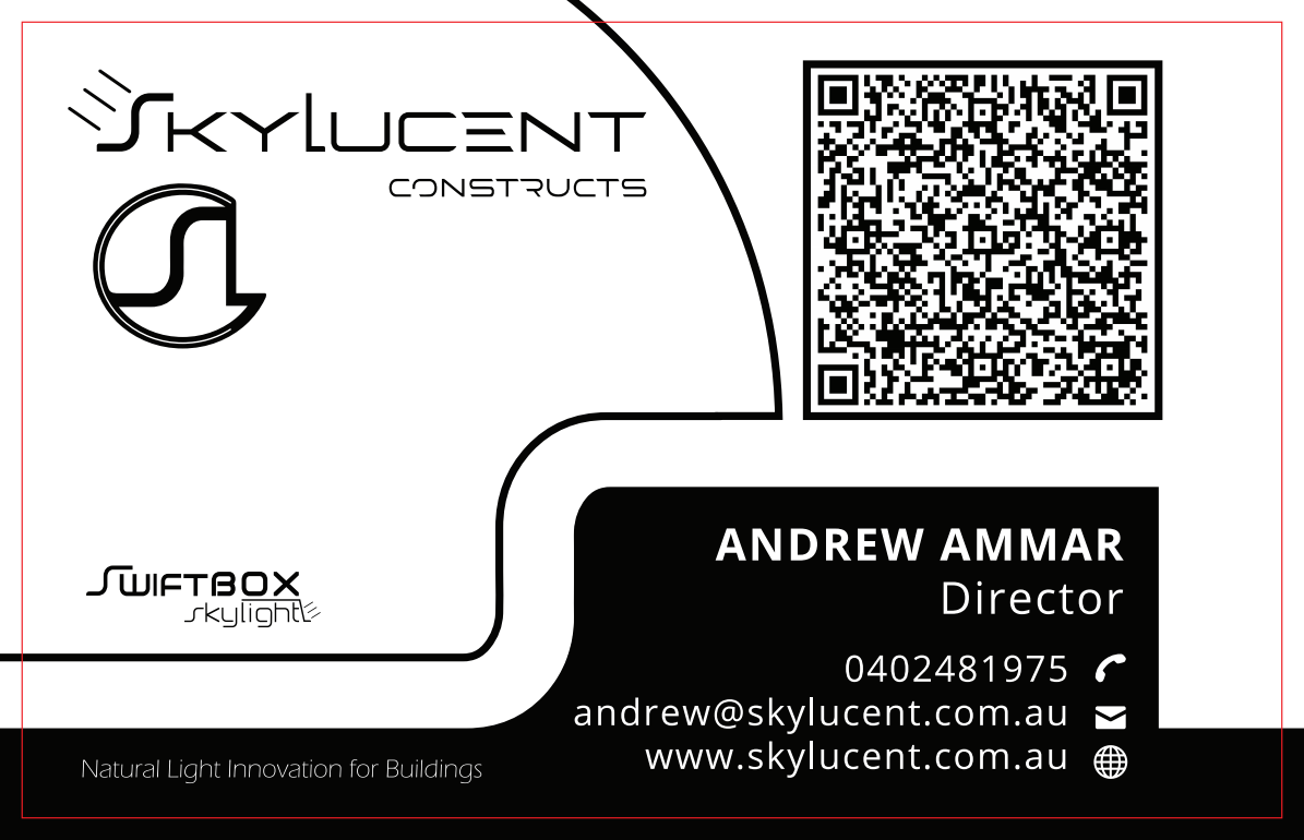 Business Card for Skylucent Constructs