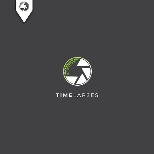 Simple, modern timelapse logo