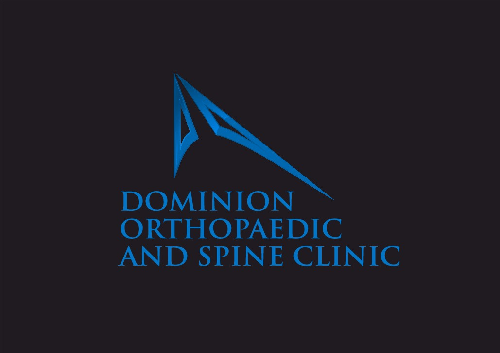 Create a fresh logo for Dominion Orthopaedic and Spine Clinic!
