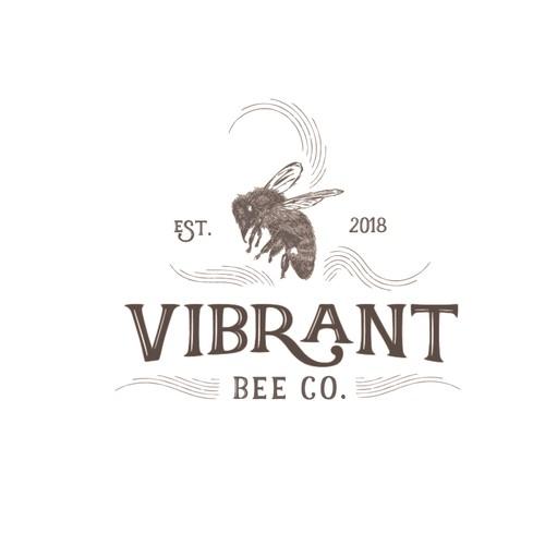 Vibrant Bee