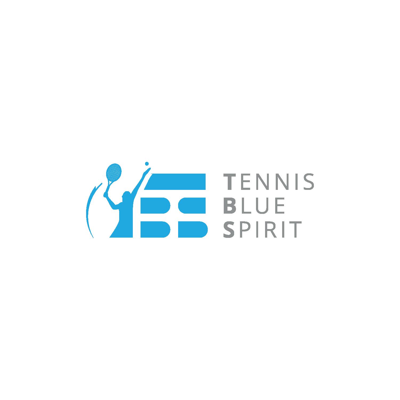"Logo ""Tennis Blue Spirit"""