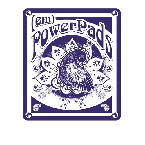 logo-illustration for (em)PowerPads