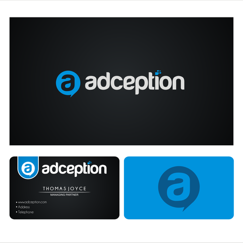 New logo and business card for Adception.