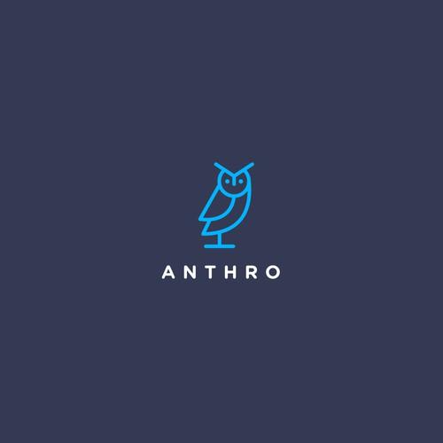 ANTHRO ( OWL LOGO )