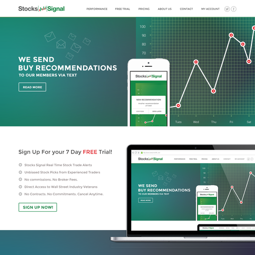 Stock Market Website