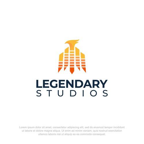 Bold Logo for Recording Company