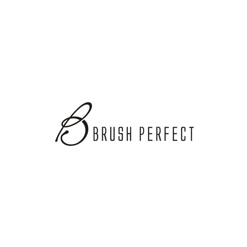 a sophisticated and high end logo for makeup brush company Brush Perfect