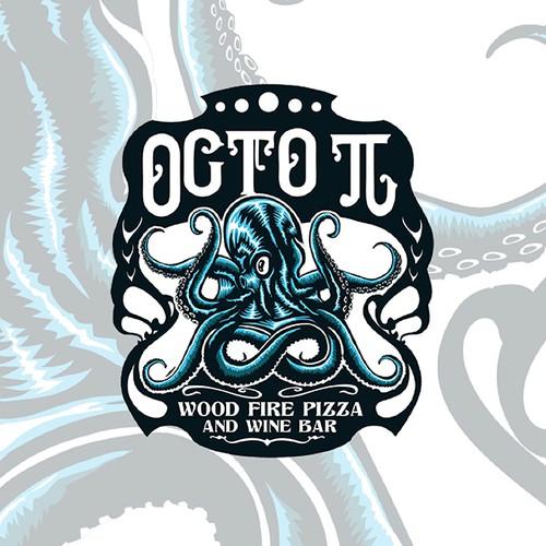 Bold octopus logo