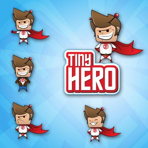 Logo for Hollywood based Marketing / TV co. - Tiny Hero