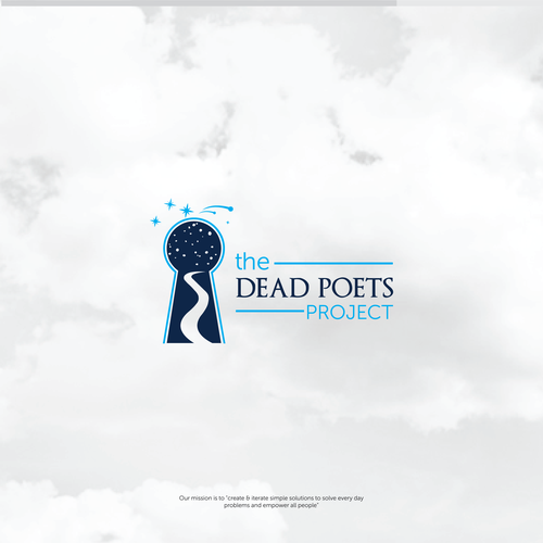 Inspiring logo for the Dead Poets Project