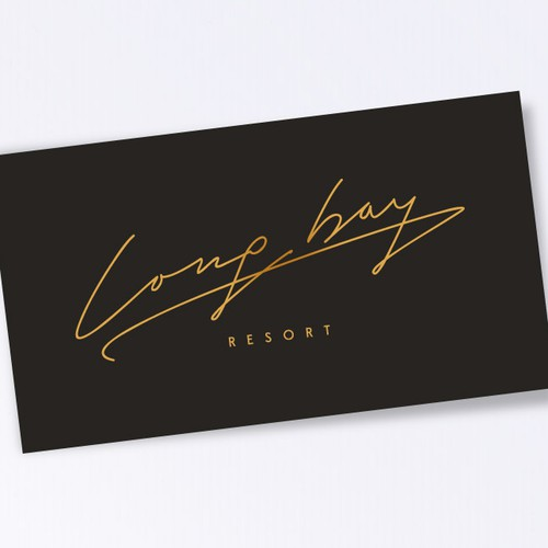 Long Bay Resort Logo Design