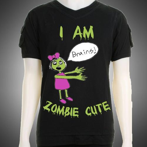 Sidecca Zombie T-shirt Design