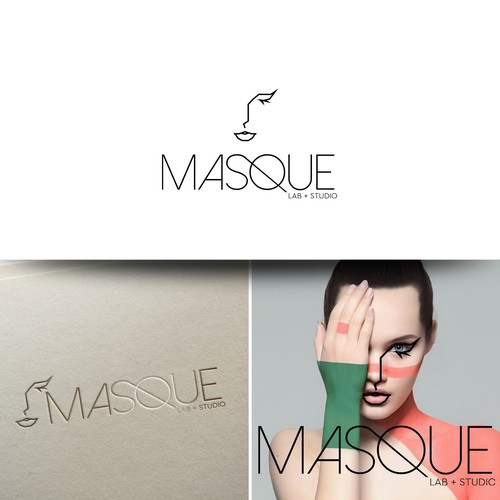Masque logo design