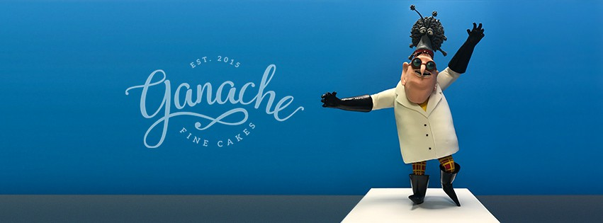 Facebook Cover for ganache fine cakes