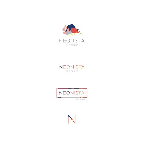 logo concept for Neonista clothing