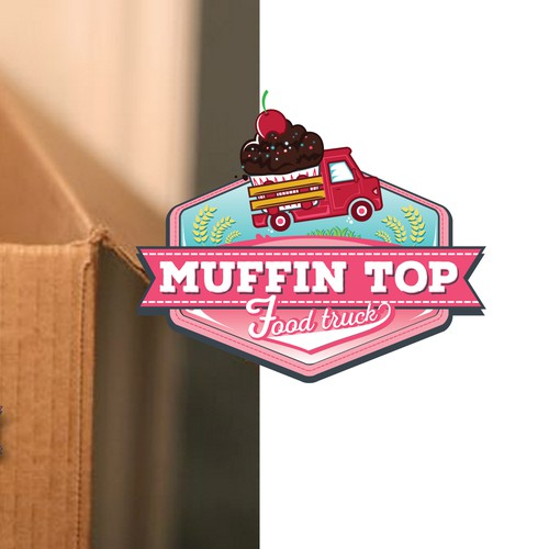 Create a yummy design for Muffin Top Food Truck!