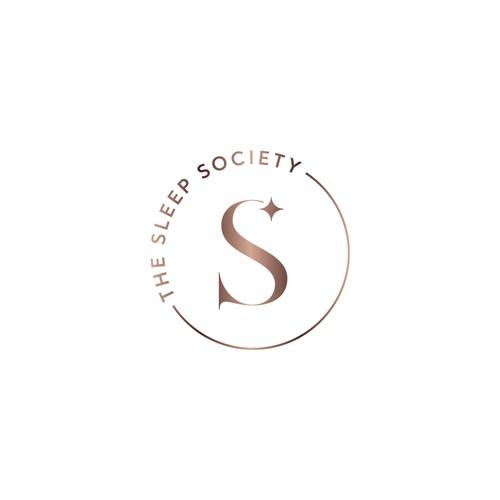 Modern feminine logo for a baby sleep consultant.